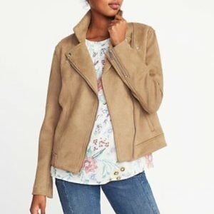 Old Navy Faux Suede Jacket NWOT